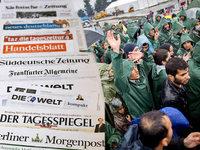Medienwissenschaftler kritisiert Berichterstattung über Flüchtlingskrise