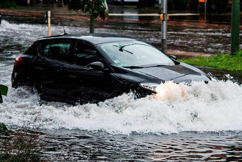 In diesem Sommer sorgte die deutsche Hauptstadt schon mehrmals für beeindruckende Bilder heftiger Unwetter. (Foto: dpa)