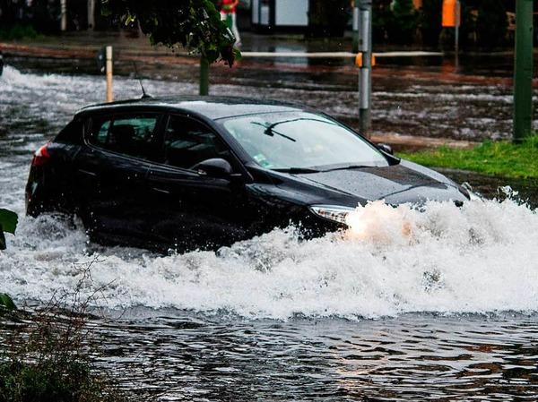 In diesem Sommer sorgte die deutsche Hauptstadt schon mehrmals für beeindruckende Bilder heftiger Unwetter.