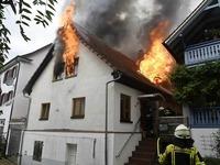 Ursache für Feuer in Müllheim war wohl technischer Defekt