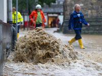 Fotos: Dauerregen sorgt für Katastrophenalarm im Harz