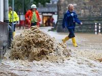 Hochwasseralarm in Teilen Deutschlands nach Dauerregen