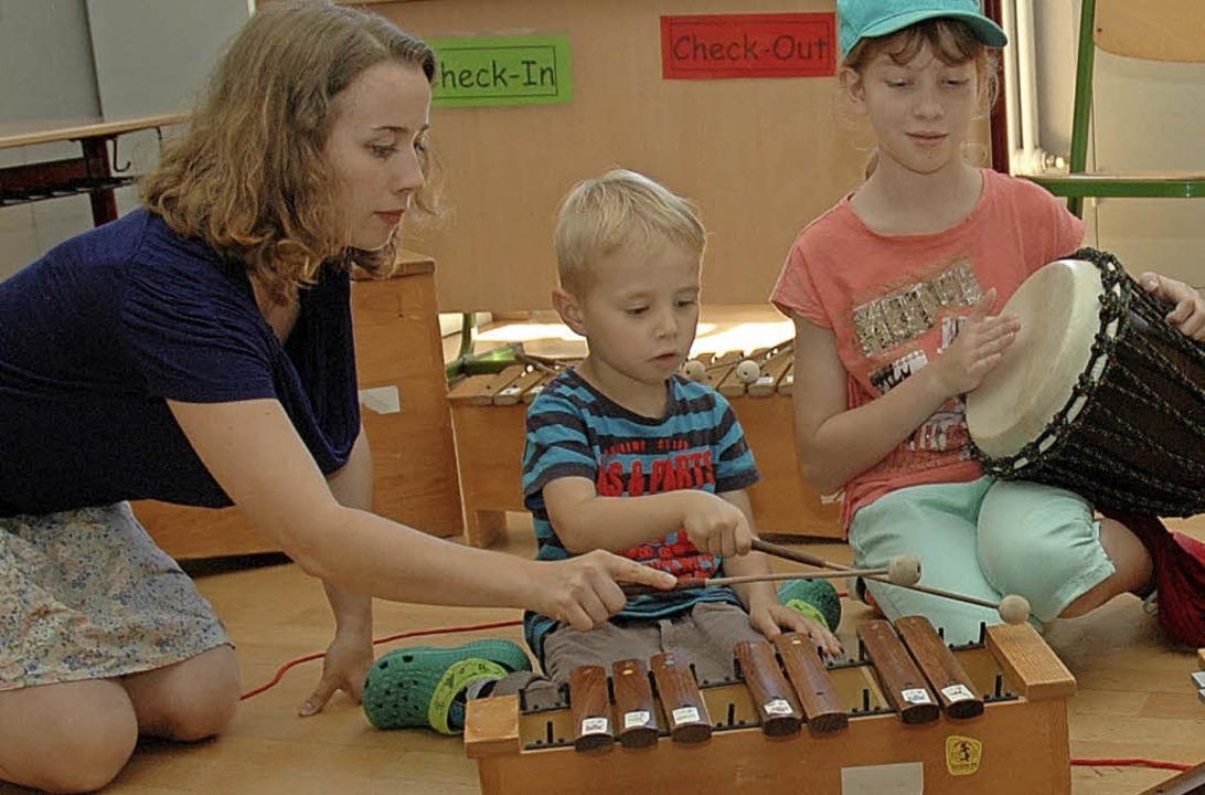 Spielerisch Grundlagen vermitteln, das...nliegen der städtischen Musikschule.    | Foto: Ounas-Kräusel