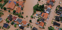 Katrastrophenalarm nach Dauerregen und Überschwemmungen