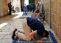 Gespannte Lage in Jerusalem