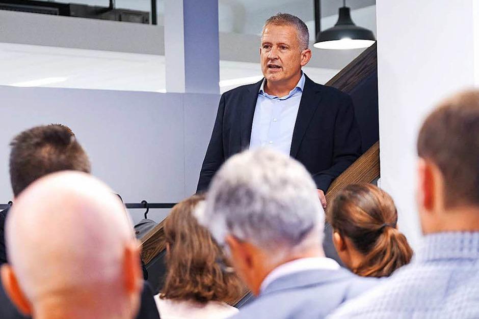 Regionalverlagschef Markus Fangmann (Foto: Miroslav Dakov)