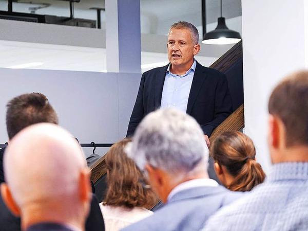 Regionalverlagschef Markus Fangmann
