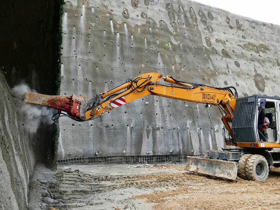 Tunnelanschlag an der A 98    Foto: Verena Pichler