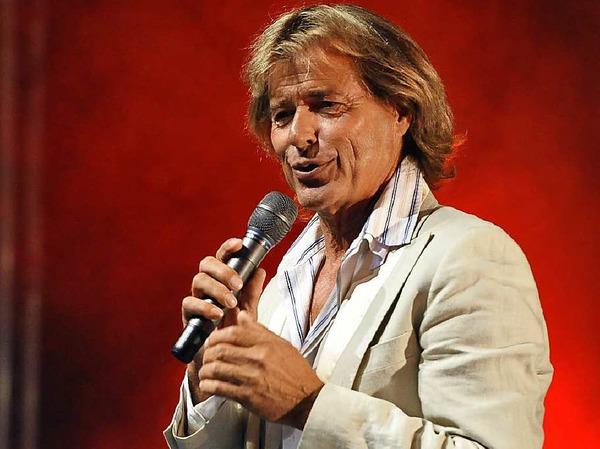 Stargast Hansi Hintereseer verzückte das Publikum mit Tiroler Charme