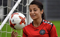 Die dänische Nationalspielerin Nadia Nadim im Porträt