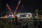 Fotos: Spektakulärer Brückenabriss zwischen Malterdingen und Riegel