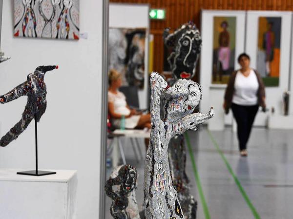 Impressionen von der Kunstmesse und dem Kunsthandwerkermarkt am Wochenende in Endingen