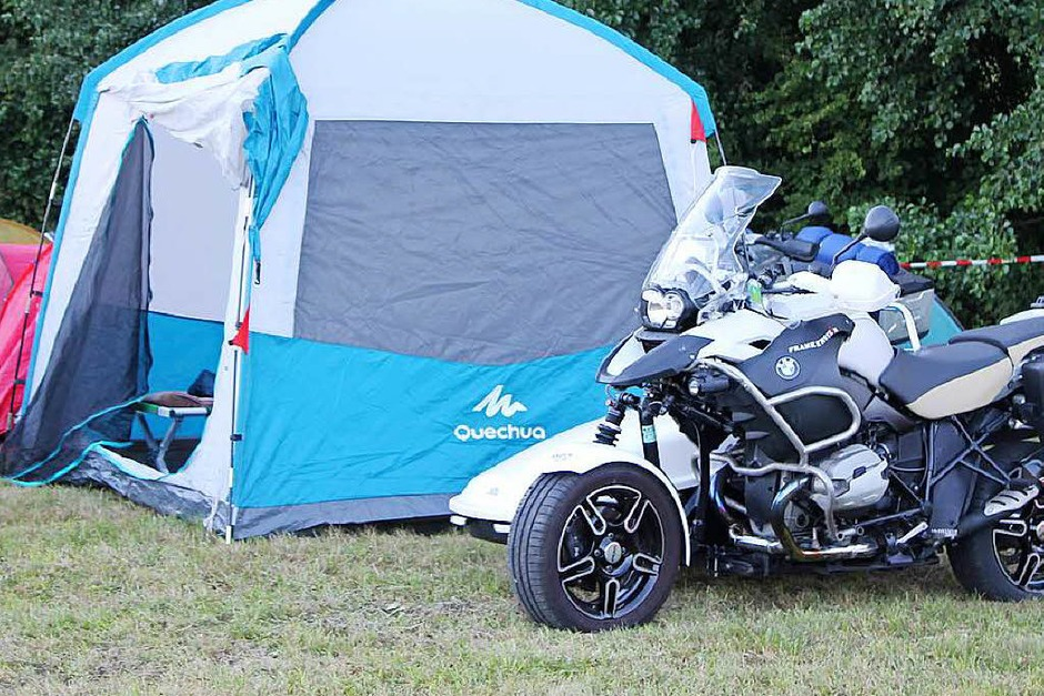 Klasse Stimmung herrschte wieder beim Motorradfäscht der Motorradfreunde Grunholz.