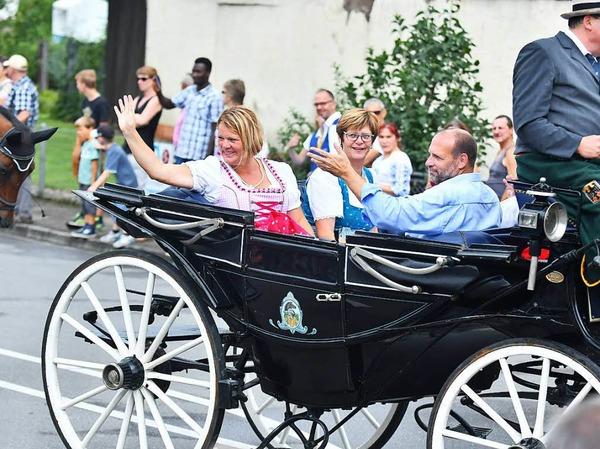 Die 125-Jahr-Feier des MV Ottenheim krönte ein bunter Festumzug durch das Dorf.