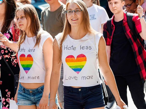 Christopher Street Day (CSD) 2017 in Stuttgart