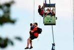 Fotos: 65 Passagiere werden aus Seilbahn in Köln befreit