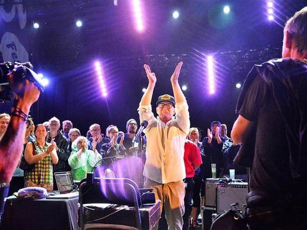 Lambchop beschließen das Lörracher Stimmenfestival.