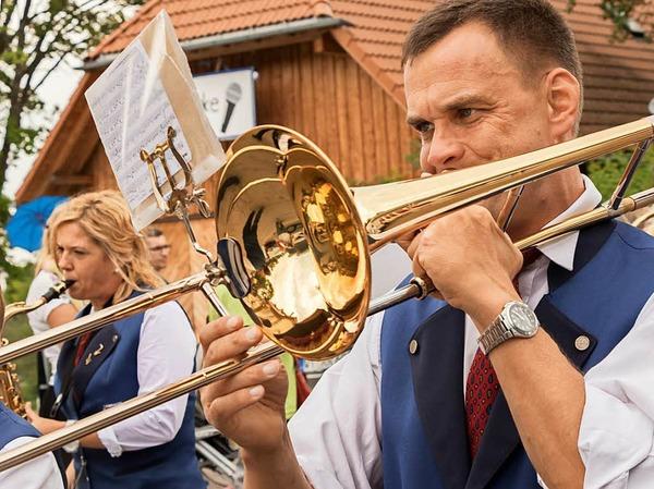 Auch der Musikverein Lembach war mit von der Partie.