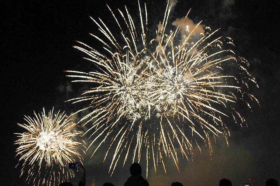 Beeindruckend: das große Feuerwerk kurz vor Mitternacht (Foto: Thomas Loisl Mink)