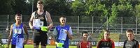 Marcel Willmann sichert sich zwei Medaillen