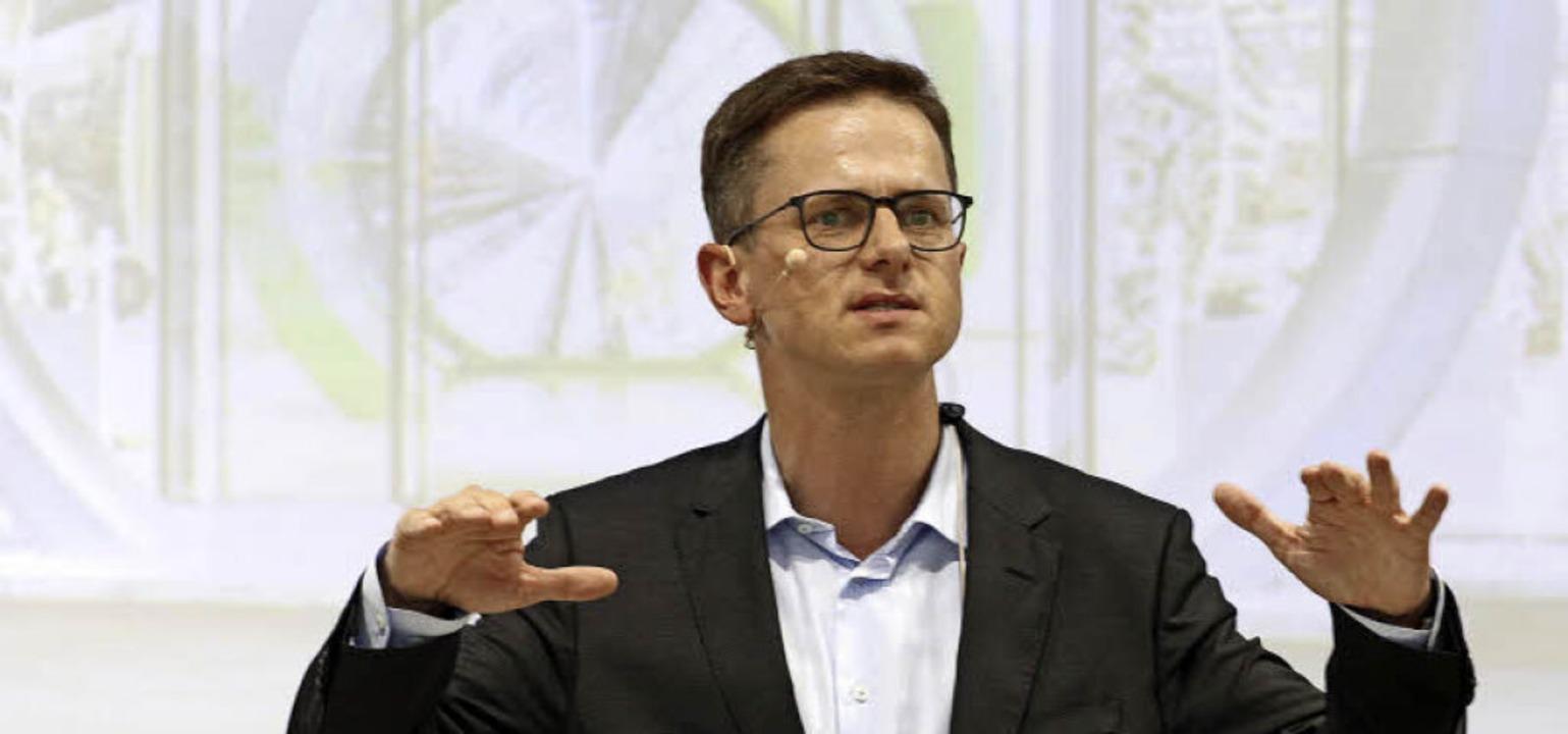 Carsten Linnemann bricht eine Lanze für den Mittelstand.  | Foto: heidi fössel