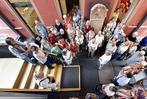 Fotos: Die BZ-Ferienaktion besucht die Stiftungsverwaltung in Freiburg