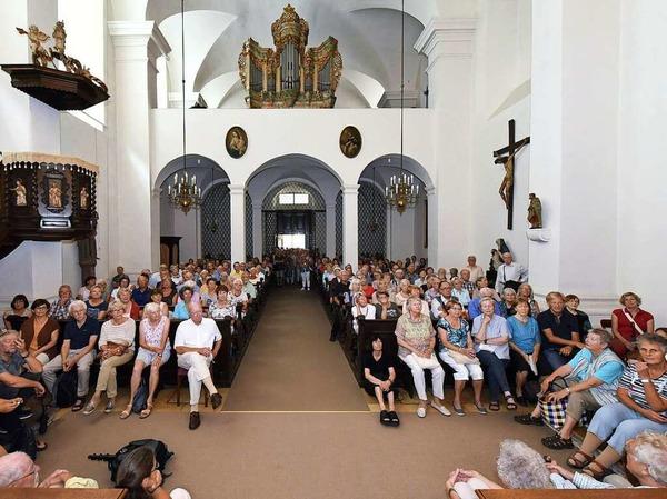 BZ-Ferienaktion in der Stiftungsverwaltung, dem einstigen Adelhauser Kloster