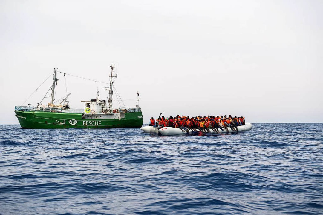 """Die """"Sea-Eye"""" hilft Flüchtlingen in Seenot.    Foto: sea-eye.org"""
