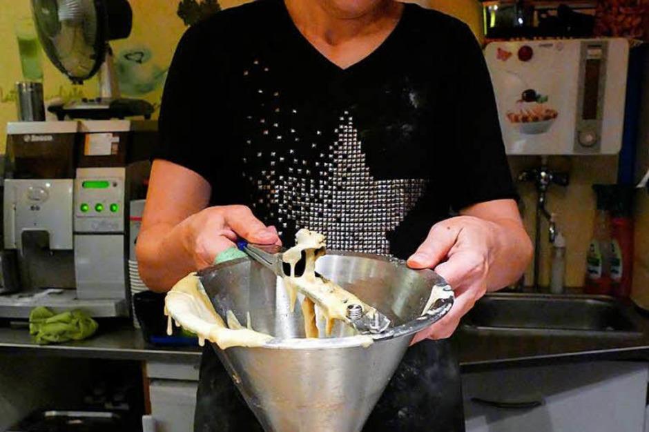 Und zum guten kulinarischen Schluss dürfen die kultigen Striebli natürlich nicht fehlen. (Foto: Hans-Peter Müller)