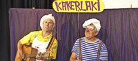 Mit den Clowns Beppo und Ferdinand in Höchenschwand
