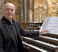 Mit Organist Paolo Bougeat, in St. Blasien