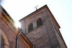 Fotos: Malermeister streicht Denzlinger Kirche alleine an