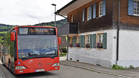 Der VAG-Bus fährt weiter nach Horben