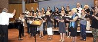 Sommer-Singwoche endet mit erfolgreichem Konzert