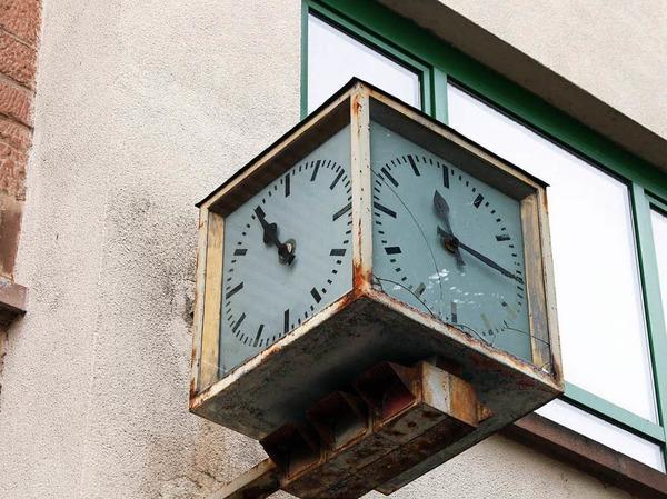 ... die Zeit auf dem Areal scheint nur manchmal stehengeblieben zu sein.