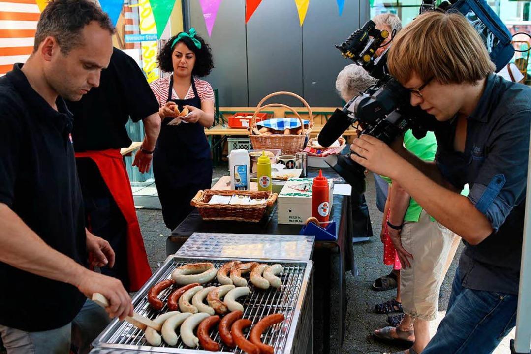 Falakshahi und Frey zeigten ihre Grill...rei Hug in Steinen (Archivbild, 2014).  | Foto: Hans-Jürgen Hege
