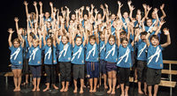 """Adonia-Projektchor präsentiert Kindermusical """"Der Schatz"""" in der Gemeindehalle Willaringen."""