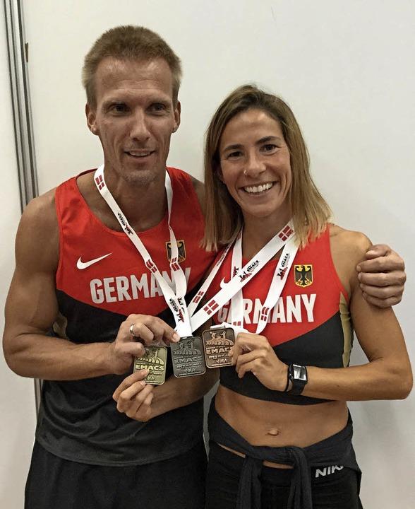 Gold, Silber, Bronze:  Björn Wind  und...-Stetten den kompletten Medaillensatz.  | Foto: ZVG