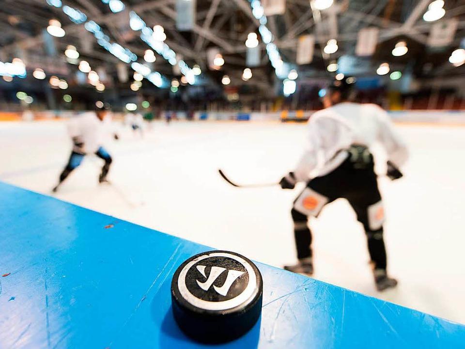 Die neue Eiszeit beim EHC Freiburg hat...pielern ziemlich unbeachtet bleibt.     | Foto: Patrick Seeger