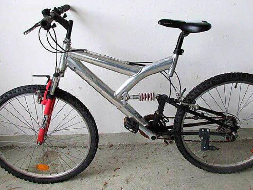 <ppp>für dieses Mountainbike ohne Herstellerangaben.</ppp>  | Foto: Polizei