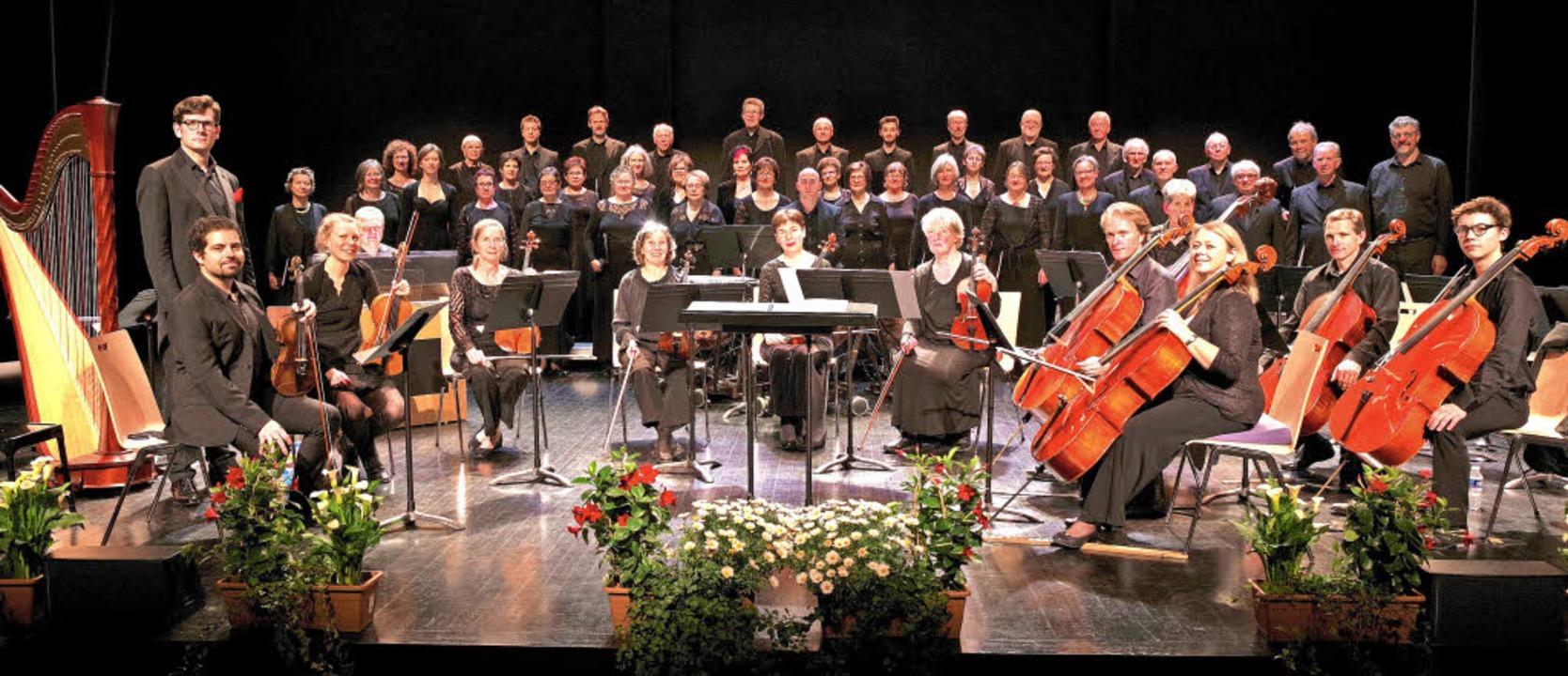 Die Musiker der Vocalys, eine Wortkreation aus Vokal und Lys     Foto: Magdalena Kaufmann-Spachtholz