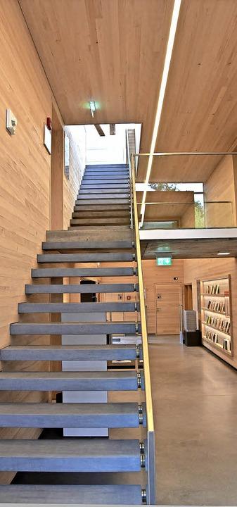 Weißtanne auch im Treppenhaus  | Foto: x