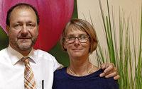 Martina und Frank Roser leiten seit 2005 ein Bestattungsunternehmen in Lörrach