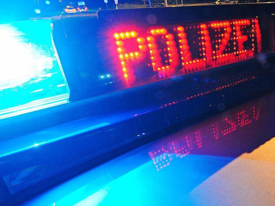 Am Freitag hat es in Steinen einen Polizeieinsatz gegeben.  | Foto: dpa
