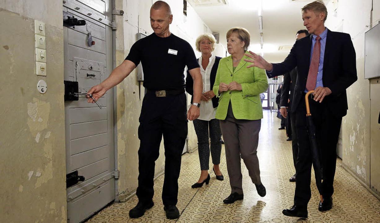 Auf den Gefängnisfluren in Berlin-Hohenschönhausen  | Foto: dpa