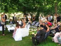 In Münstertal haben jetzt die ersten Brautpaare unter freiem Himmel geheiratet