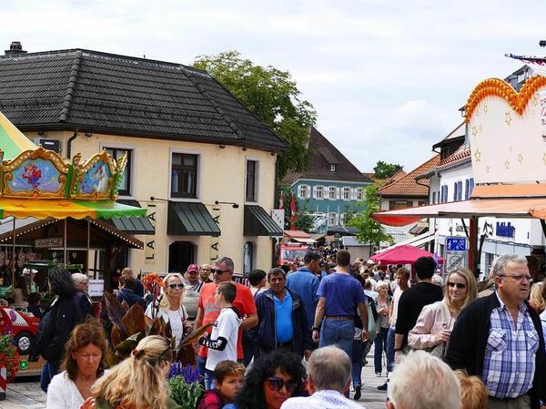 Die erste BZ Food Truck Meile in Bad Krozingen stieß auf eine riesige Resonanz.