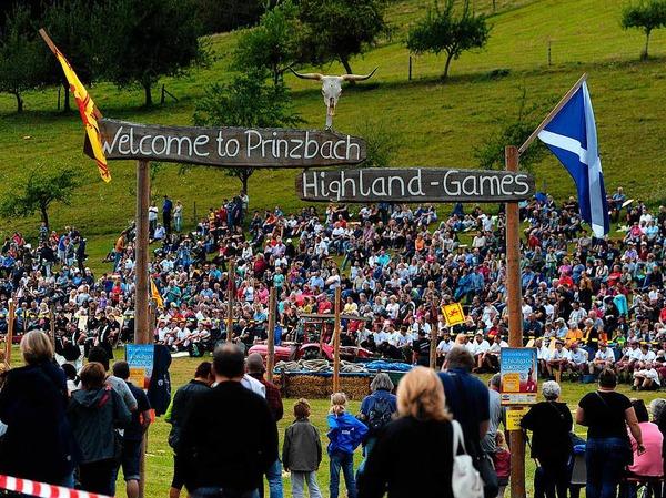 Highland-Games in Prinzbach