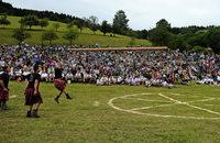 In Prinzbach kämpften die Highlanders mitten im Dorf