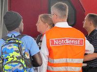 Gestrandet in Offenburg: Wie die Feuerwehr den Reisenden hilft